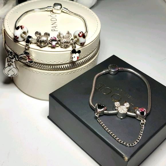 Pandora Disney Charm Bracelet Bundle